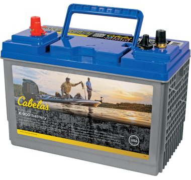 Cabela's X-900 31 Dual Purpose Pure Lead AGM Battery
